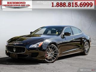Used 2014 Maserati Qtrprt GTS All Major Service Up To Date No Accidents for sale in Richmond, BC