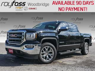 Used 2018 GMC Sierra 1500 SLT, LEATHER, BENCH, 4X4 for sale in Woodbridge, ON