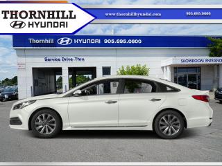 Used 2016 Hyundai Sonata Sport Tech  - Navigation -  Bluetooth for sale in Thornhill, ON