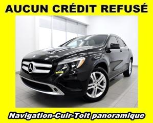 Used 2016 Mercedes-Benz GLA 250 4MATIC PREMIUM *TOIT PANO* NAVIGATION *PROMO for sale in St-Jérôme, QC