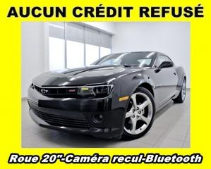 Used 2014 Chevrolet Camaro RS LT *CAMERA RECUL* BLUETOOTH *ROUES 20 PO* PROMO for sale in St-Jérôme, QC