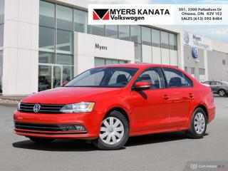 Used 2016 Volkswagen Jetta 1.4 Trendline+  - Heated Seats for sale in Kanata, ON