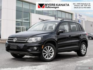 Used 2017 Volkswagen Tiguan Wolfsburg Edition  - Leather Seats for sale in Kanata, ON