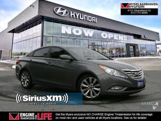 Used 2013 Hyundai Sonata Limited  - Sunroof -  Leather Seats - $62.82 /Wk for sale in Nepean, ON