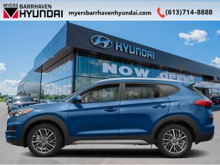 Used 2020 Hyundai Tucson Ultimate  - Navigation -  Leather Seats - $125.33 /Wk for sale in Nepean, ON