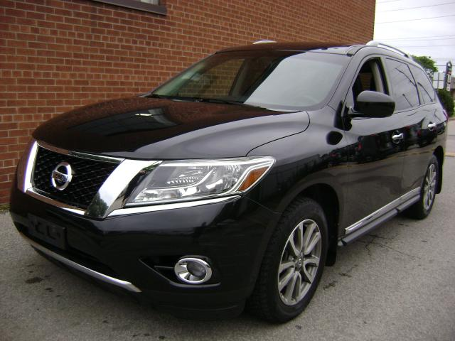 2015 Nissan Pathfinder 1 OWNER NO ACCIDENTS/NAVI/360CAM/SL TEC PACKEGEH