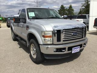 Used 2008 Ford F-250 Lariat | 4X4 | 12.5k Trailer Tow Hitch for sale in Harriston, ON