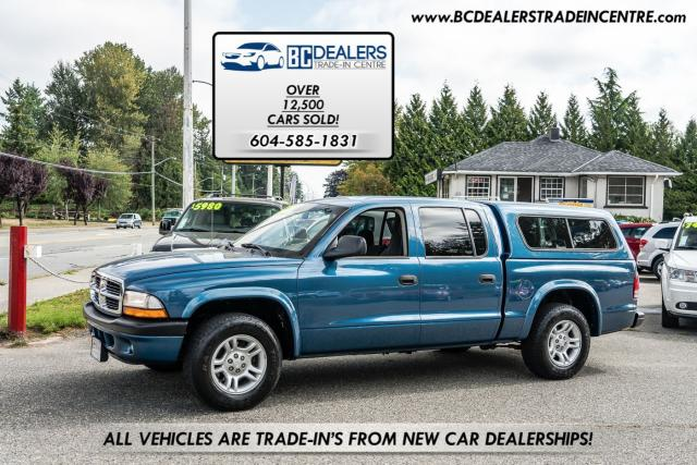 2004 Dodge Dakota Quad Cab Sport 3.7L, Tow Pack, Alloys, Clean!