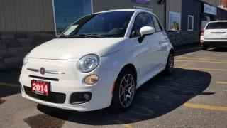Used 2014 Fiat 500 Sport for sale in Tilbury, ON