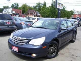 Used 2008 Chrysler Sebring Touring,Leather,sun roof,fog lights, Certified,,, for sale in Kitchener, ON