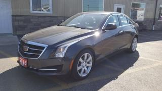Used 2015 Cadillac ATS FACTORY WARRANTY-LEATHER-BLUETOOTH-HEATED SEATS for sale in Tilbury, ON