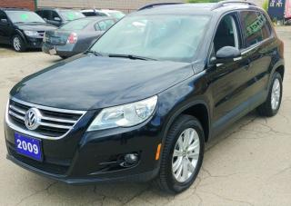 Used 2009 Volkswagen Tiguan Trendline for sale in Hamilton, ON