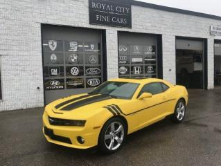 Used 2010 Chevrolet Camaro SS/ 6 Speed stick for sale in Guelph, ON
