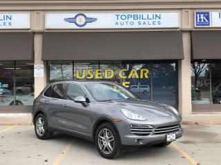 Used 2014 Porsche Cayenne Platinum Edition, Clean CarFax for sale in Vaughan, ON
