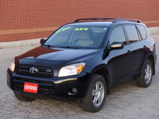 Used 2008 Toyota RAV4 4WD,ONE-OWNER,NO-ACCIDENTS,LOADED,CERTIFIED,LOW KM for sale in Mississauga, ON
