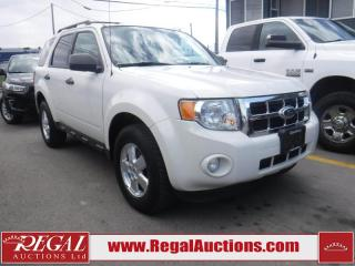 Used 2010 Ford Escape XLT 4D Utility FWD for sale in Calgary, AB