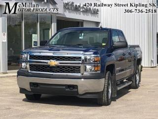 Used 2015 Chevrolet Silverado 1500 LS  ONLY 59,000 KMS! DOUBLE CAB,4X4,5.8L V8 for sale in Kipling, SK
