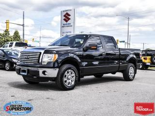 Used 2011 Ford F-150 XLT Super Crew 4x4 ~5.0L V8 ~Trailer Tow Package for sale in Barrie, ON