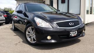 Used 2013 Infiniti G Sedan 37x AWD - LEATHER! SUNROOF! BACK-UP CAM! for sale in Kitchener, ON