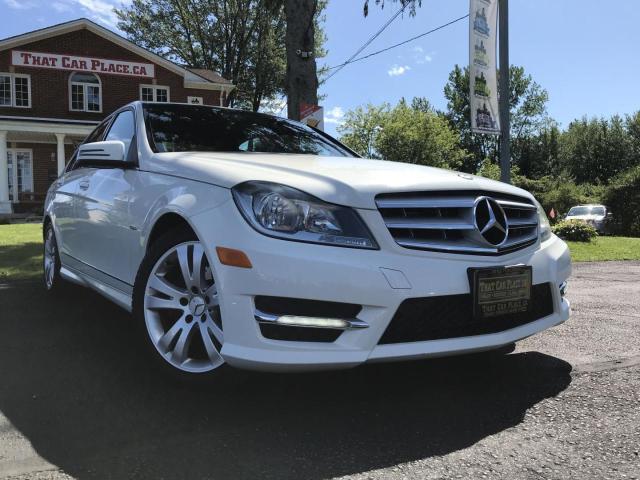 2012 Mercedes-Benz C-Class C250 4MATIC-Htd Lthr Seats-Bluetooth-Alloys-V6