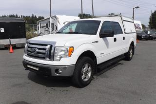 Used 2012 Ford F-150 XLT SuperCrew 6.5-ft. Bed 4WD with Canopy for sale in Burnaby, BC