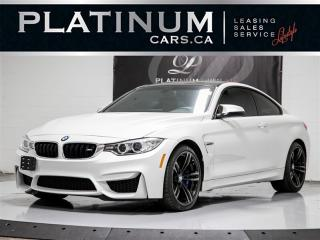 Used 2015 BMW M4 RWD, 6 SPEED, NAVI, CAM, RED LEATHER, BT, Keyless for sale in Toronto, ON