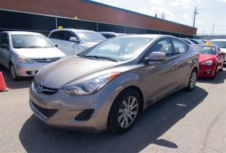 Used 2013 Hyundai Elantra GLS, HEATED SEATS, SATELLITE RADIO, BLUETOOTH for sale in Toronto, ON