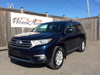 Used 2012 Toyota Highlander for sale in Stittsville, ON