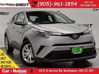 Used 2019 Toyota C-HR LE| BACK UP CAMERA| DUAL CLIMATE CONTROL| for sale in Burlington, ON