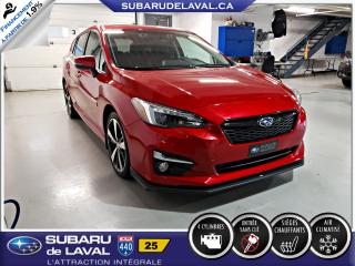 Used 2017 Subaru Impreza Sport-tech EyeSight Awd ** Apple Carplay for sale in Laval, QC