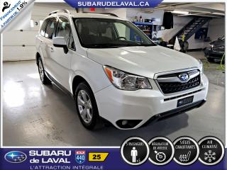 Used 2015 Subaru Forester 2.5i Commodité Awd ** Caméra de recul ** for sale in Laval, QC