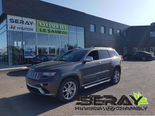 Used 2014 Jeep Grand Cherokee Summit for sale in Chambly, QC
