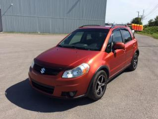 Used 2010 Suzuki SX4 Voiture à hayon, 5 portes, boîte manuell for sale in Quebec, QC