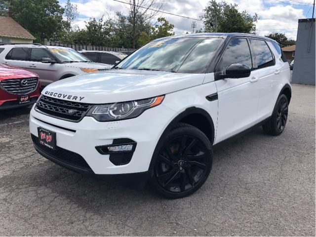 2016 Land Rover Discovery Sport HSE Luxury | Nav | Black Design Pkg | Htd S Wheel