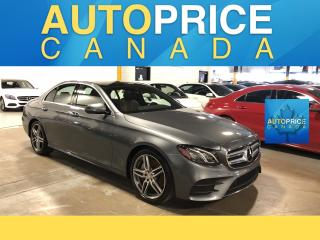 Used 2017 Mercedes-Benz E-Class SPRT PKG|NAVIGATION|PANOROOF|LEATHER for sale in Mississauga, ON