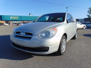 Used 2009 Hyundai Accent Hayon 3 portes, boîte manuelle, L for sale in St-Eustache, QC