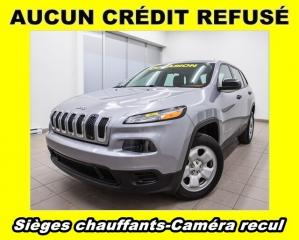 Used 2014 Jeep Cherokee SPORT *BAS KM* CAMERA *SIEGES CHAUFFANTS* PROMO for sale in St-Jérôme, QC