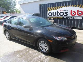 Used 2016 Honda Civic ( CAMERA + GROUPE ELECTRIQUE ) for sale in Laval, QC