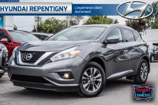 Used 2016 Nissan Murano SL AWD**CUIR, NAVIGATION, TOIT PANORAMIQUE** for sale in Repentigny, QC