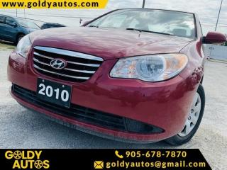 Used 2010 Hyundai Elantra GL for sale in Mississauga, ON