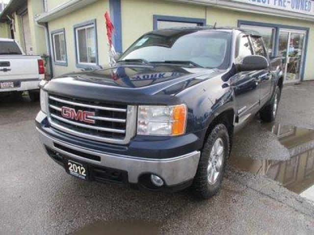 2012 GMC Sierra 1500 WORK READY SLE MODEL 6 PASSENGER 5.3L - VORTEC.. 4X4.. CREW.. SHORTY.. BACK-UP CAMERA.. DVD PLAYER.. CD/AUX INPUT.. TOW SUPPORT..