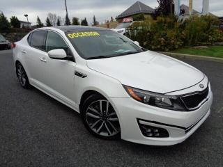 Used 2015 Kia Optima SX Turbo * CUIR * TOIT * NAV * for sale in Ste-Julie, QC