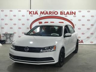Used 2015 Volkswagen Jetta 2.0L Trendline+ * BLUTOOTH * BANCS CHAUFFANTS * for sale in Ste-Julie, QC