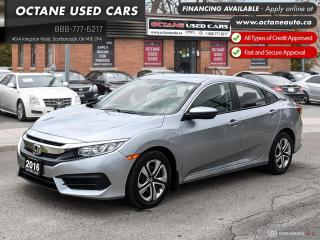 Used 2016 Honda Civic LX Accident Free! for sale in Scarborough, ON