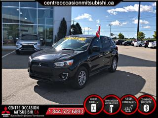 Used 2015 Mitsubishi RVR SE AWC BLUETOOTH A/C for sale in St-Jérôme, QC