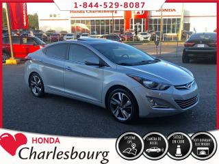 Used 2015 Hyundai Elantra LIMITED **GPS**TOIT OUVRANT** for sale in Charlesbourg, QC