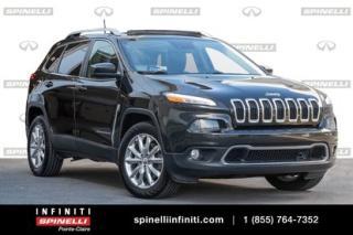 Used 2016 Jeep Cherokee Limited / GPS / CAMERA / TOIT Limited / GPS / CAMERA / TOIT for sale in Montréal, QC
