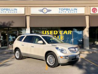 Used 2012 Buick Enclave CXL AWD, DVD, Fully Loaded for sale in Vaughan, ON