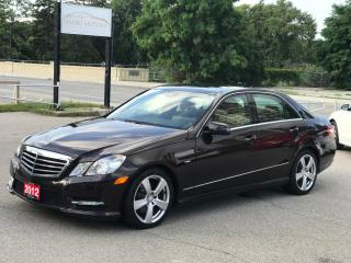 Used 2012 Mercedes-Benz E-Class E 350|Driver Assist Package for sale in Cambridge, ON