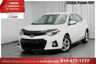 Used 2016 Toyota Corolla S **SIÈGES CHAUFFANTS+JANTES ALLIAGE** for sale in Drummondville, QC
